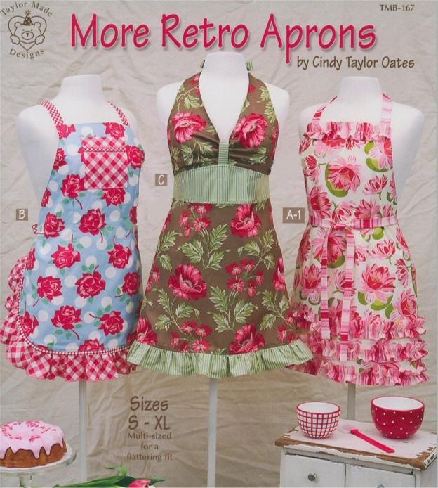 More retro aprons